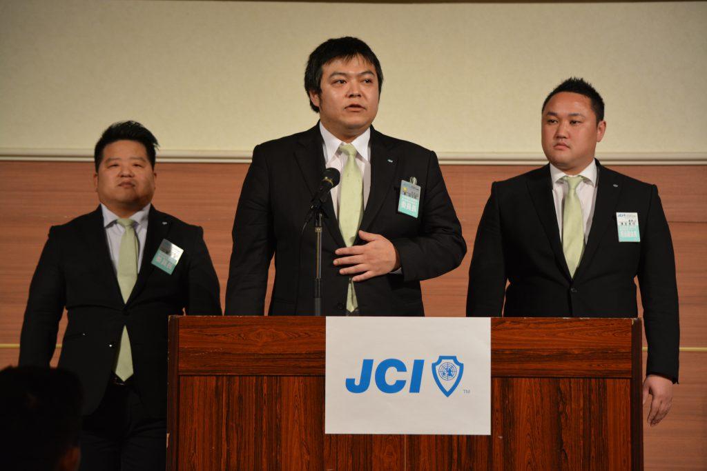九州地区協議会委員長という重役を、若い力で見事に務めています。