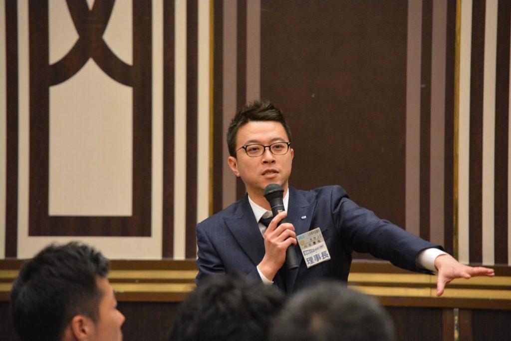 川北理事長による講評 日頃の準備の大切さ、避難行動ができる体型維持と体力維持の重要性について語ってくださりました。