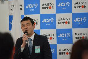 岡本基 直前会長