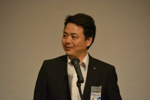 JCボックス 県都振興委員会 平田修治 君 自身の新たな出発について、熱い意気込みをお話いただきました。