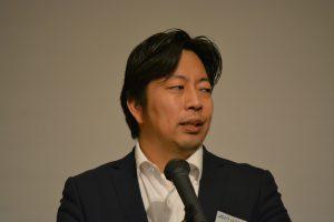 卒業生の部屋 県都振興委員会 西村雅幸 君 自身のJC生活を振り返るとともに、残りのJC生活への意気込みを語ってくれました。