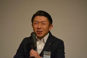 小間喜広通特別顧問による講評 人を巻き込むことの重要性と、人を巻き込んで大分青年会議所を活性化して欲しいなどのお話をいただきました。