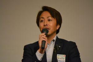 秋月洋佑監事による講評 7年前に学生ネットワークを担当委員会副委員長として立ち上げたことを振り返り、例会企画の成功について、慶びの講評をいただきました。