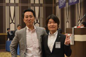 青少年共生委員会 池田修平委員長(右) 西林勲二 副委員長(左) 本例会企画を中心となり、企画・運営しました。