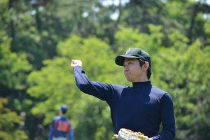 5番 ピッチャー 喜多嶋勇介