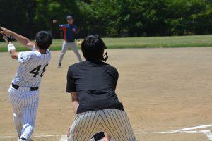 1回表 大分の岡村の先頭打者ホームランで大分が先制