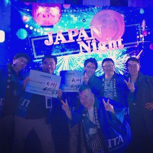 JAPANナイト 日本から参加したJCIメンバーと交流を持ちました。