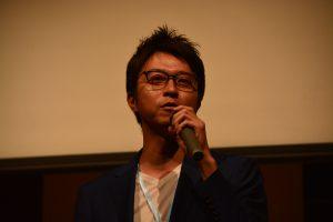 川北慶祐理事長による開会の挨拶