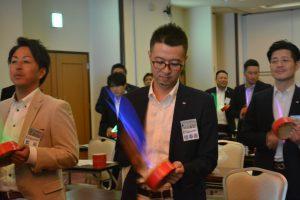 川北慶祐 理事長 カメラでは捉えきれないほどのスピードでリズムを刻みます。