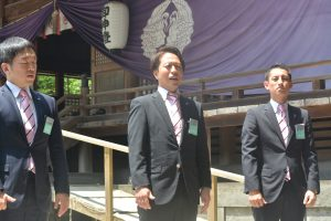 秋月洋祐 地方創生グループ担当副会長(大分JCより出向) 大分ブロック大会を担当する副会長として、ブロック大会の企画・運営に尽力しました。