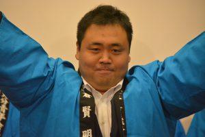 まちづくり委員会 平倉賢明委員長 2017年七夕ブローd-ウェイを中心となり企画運営しています。