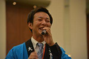 人財拡大委員会 大塚大輔 委員長 今回の交流会を中心となり企画・運営しました。