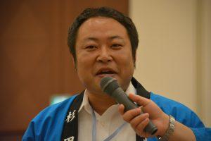 人財拡大委員会 杉田康 副委員長 今回の交流会においても大きな役割を果たしました。
