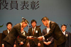 2016年度 大分ブロック協議会会長 岡本基 先輩(右)