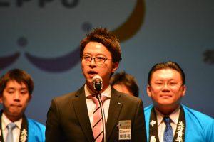 次年度ブロック大会開催に向けて、川北理事長が意気込みを語りました。
