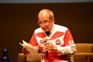 大分県知事 広瀬勝貞 様 2019年ラグビーワールドカップに向けた大分県の現状の取り組みと今後の展望などについてお話しいただきました。