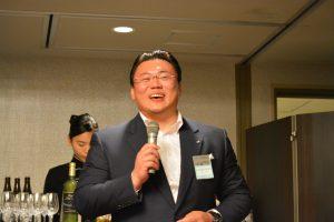 道徳教育推進委員会 中島土 統括監事 フォーラムを無事に終了し、大分青年会議所のメンバーに謝辞をいただきました。