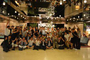 懇親会の後は、帯広青年会議所の皆様と記念撮影
