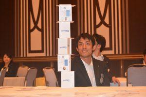 第2部⑬ 優勝したトランプタワーの設計施工を行った本室嘉己君