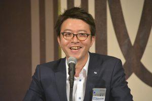 川北理事長による例会企画の講評 楽しい企画内容であったとの講評をいただきました。