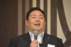 JCボックス 角山勇人 君 第2子誕生、代表取締役就任の喜びを語ってくれました。