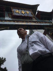 会場のすぐ近くが中華街でした。