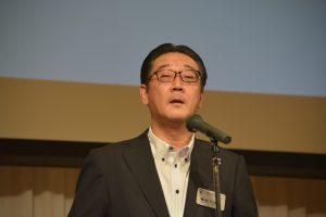 藤田千克由OB会長にご挨拶を賜りました。