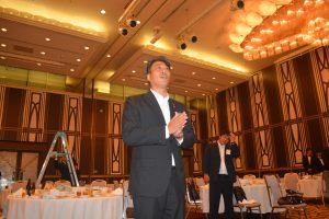 交流会の様子⑳ 加藤健副理事長による閉会の挨拶で、交流会は幕を閉じました。
