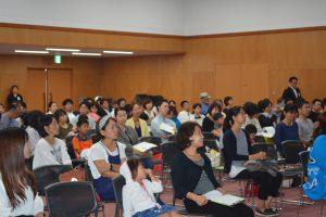 中島委員長の話に、聴講者は熱心に耳を傾けます。