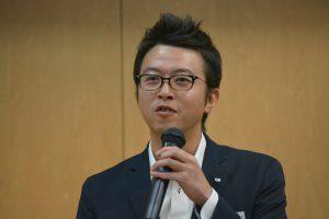 川北慶祐理事長による挨拶 2017年度も残すところ、3か月強だが、原点に戻った気持ちで、残りの期間を駆け抜けようとのメッセージをいただきました。