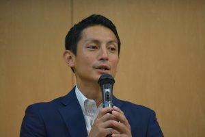 西貴之 特別顧問による講評 日本青年会議所で、「親DOリトミック」の議案を、中島委員長が上程した際のエピソードなどをお話してくださりました。